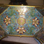 Large Quadrilateral Incense Burner and Cover