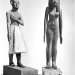 Standing Statuette of a Man Wearing a Long Kilt