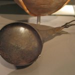 Ladle or Shallow Pan in Form of Gooses Neck