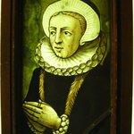 Panel depicting a Woman Praying