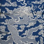 Mans Long Court Robe