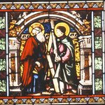 Window Panel depicting St. Andrew and St. Jude