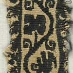 Band Fragment with Botanical and Bird Decoration
