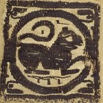 Square Fragment with Lion