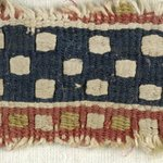 Band Fragment with Checkered Decoration