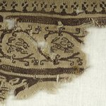 Fragment with Animal and Botanical Decorations