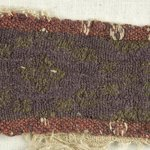 Strip Fragment with Lozenge Decorations