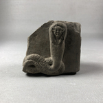 Relief Fragment of a Human-headed Cobra