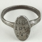 Finger Ring with Inscription