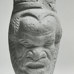 Container with Face of a Satyr