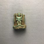 Pataikos Flanked by Goddesses Amulet