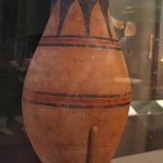Tall, Round-Bottomed Jar