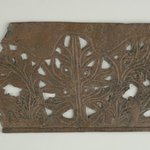 Openwork Plaque with Botanical Decoration