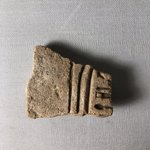 Part of Nefertiti's Cartouche, probably from a Statue Base