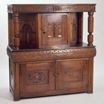 Carved Court Cupboard