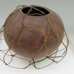 Netted Gourd Bowl (Umeke Pawehe)
