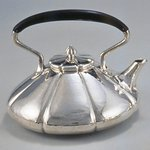 Teapot and Lid, from a Three Piece Tea Service