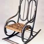 Childs Bentwood Rocking Chair