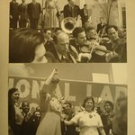 Convention International Ladies Garment Workers Union, Worlds Fair (The Honorable Eleanor Roosevelt, Senator Wagner and David Dubinsky President of I.L.G.W.U.)