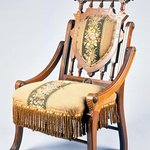 Folding Armchair (reception) (Renaissance Revival style)