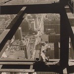 Man Astride Beam, Empire State Building