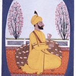 Portrait of Raja Amur Singh of Patiala