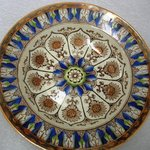 Soup Plate, Cyprus Pattern