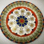 Dinner Plate, Cyprus Pattern