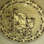 Plate, Devonshire Pattern