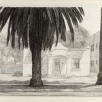 Study for Scene with Palm Trees