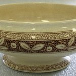Tureen with Lid; Pompadour Pattern