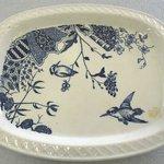 Oblong Platter; Chalet Pattern