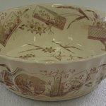 Deep Round Bowl; Tunis Pattern