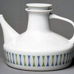 Teapot and Lid, Contempri Design, Eclipse Pattern