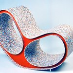 Amoeba Rocking Chair