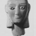 Head from a Votive Statue
