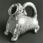 Vessel in the Form of an Animal, Yue Ware