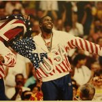 "Earvin ""Magic"" Johnson, Gold Medal Winner, Barcelona, Spain"