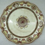 Plate, Cameo Pattern