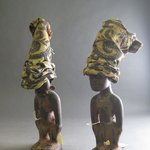 Male Twin Figure with Gown (Ere Ibeji)