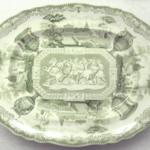 Platter, Antiques Pattern