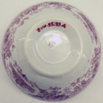 Cup and Saucer, Japanese Flowers Pattern