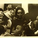 "[Untitled] (Mrs. Martin Luther King, with Her Children and Others, at the Lincoln Memorial. ""Solidarity Day"" of the Poor Peoples Campaign)"
