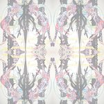 "Wallpaper, ""Stag Hunt"" Pattern"