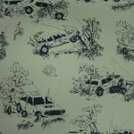 "Wallpaper ""Toile de Derby"" Pattern"