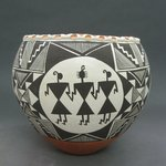 Bowl with Mimbres Motif