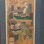 Scholars Objects and Books (Chaekgeori) with Auspicious Animals and Plants