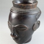 Palm Wine Cup in the Form of a Head (Mbwoongntey)