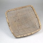 Plaited Basket Sieve with Handle