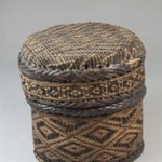 Cylindrical Basket with Cover